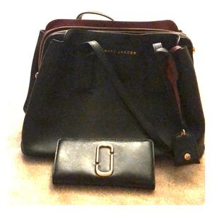 Marc Jacobs purse and matching wallet